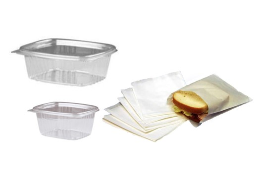 Take Out Containers & Bags
