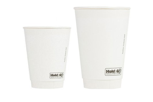 Blank Double-Walled Paper Cups