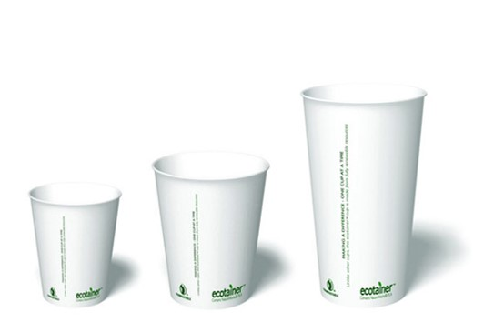 Blank ECO Paper Cups