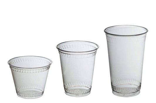 Blank ECO Plastic Cups