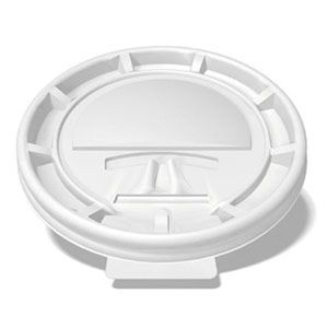 white tear-back lid