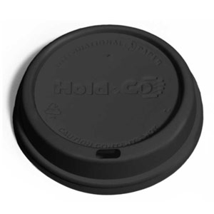 PD dome black for custom printed double-walled paper cup
