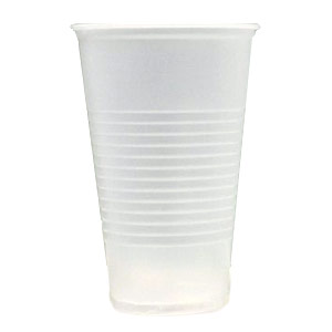 frosted-plastic cup 14oz